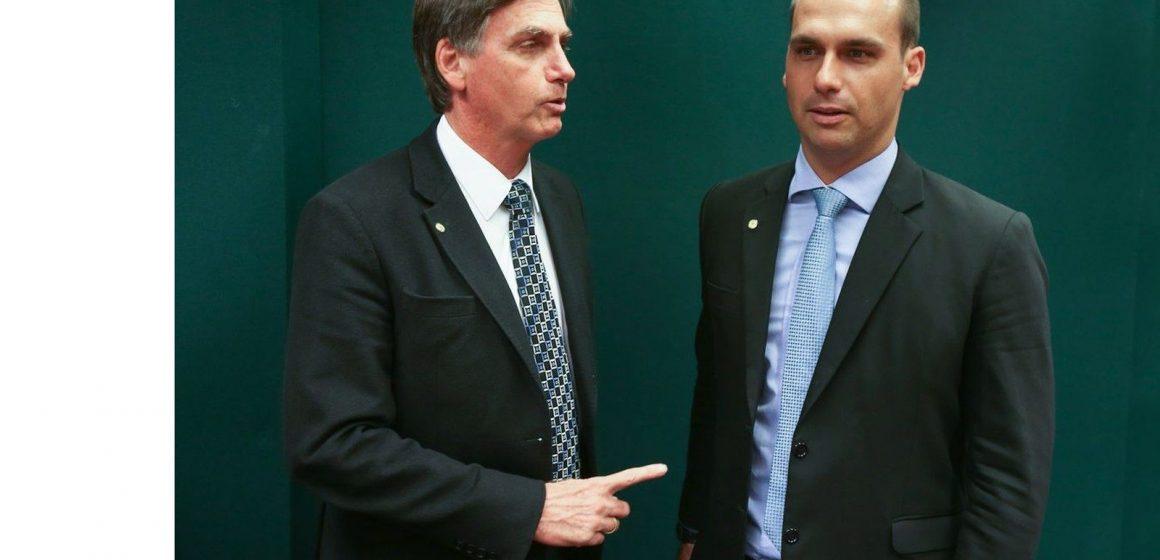 Presidente Bolsonaro desautoriza filho e descarta debate sobre pena de morte
