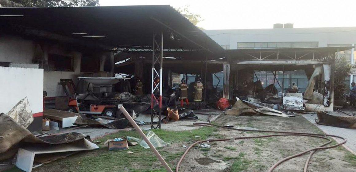 Jovens atletas do Flamengo morrem em incêndio no Centro de Treinamento, na Zona Oeste do Rio