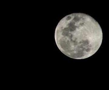 A lua e sua atuação na vida dos seres humanos