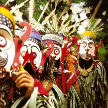 As máscaras e seus mistérios religiosos