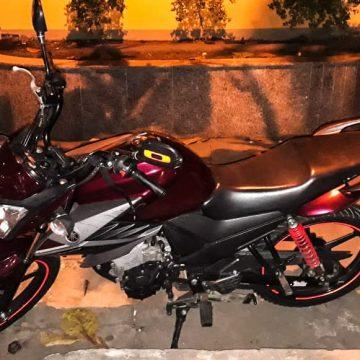 PRF recupera moto roubada em Nova Iguaçu