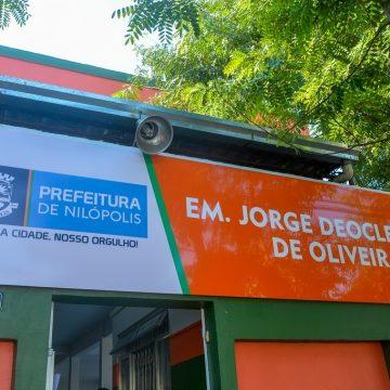 Prefeitura de Nilópolis inaugura nova escola totalmente climatizada