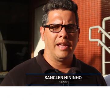 Vereador Sancler Nininho anuncia recolhimento de contribuição previdenciária da Câmara  vereadores de Mesquita
