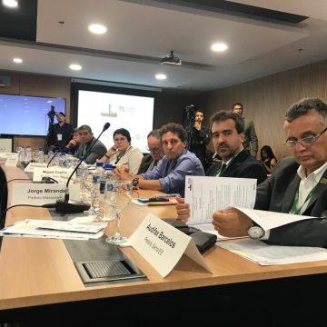 Prefeito de Mesquita participa de reunião com Ministro da Economia Paulo Guedes em Brasília durante encontro da Frente Nacional de Prefeitos