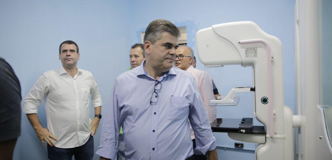 Prefeito Washington Reis entrega o primeiro mamógrafo digital no dia Internacional da Mulher