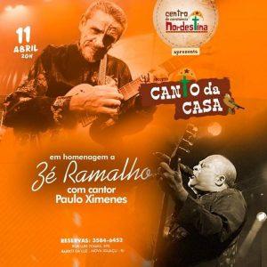 Homenagem a Zé Ramalho em Nova Iguaçu