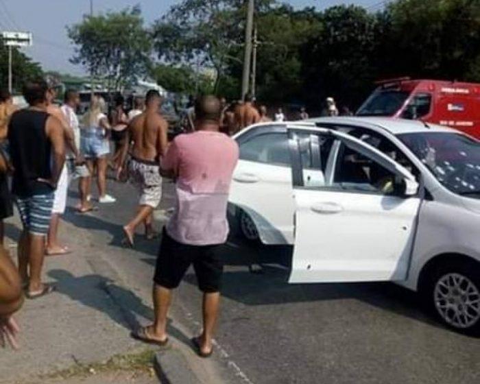 Viúva teve medo que militares forjassem cena do crime.Luciana dos Santos Nogueira conta que impediu aproximação de militares.