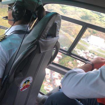 Witzel visita áreas atingidas pelas chuvas no Sul Fluminense