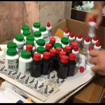 Polícia fecha laboratório clandestino de remédios na Baixada Fluminense