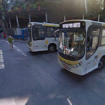 Motorista de ônibus é preso após terminar viagem no Jardim Botânico
