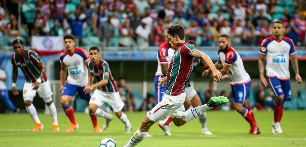 Fluminense perde para o Bahia