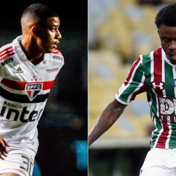 São Paulo acerta com Calazans e Brenner vai ao Fluminense por empréstimo