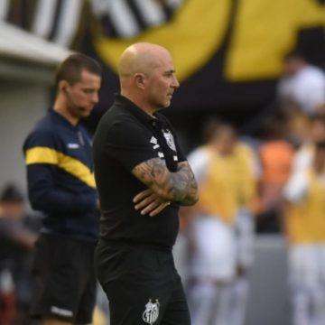 Flamengo procura Jorge Sampaoli, do Santos, mas recebe 'não' como resposta