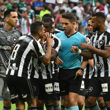 Botafogo x Palmeiras: presidente do STJD determina que CBF não homologue resultado do jogo