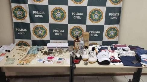 Polícia Civil realiza operação contra esquema de lavagem de dinheiro do tráfico