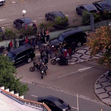 Temer é transferido da sede da PF para o Comando de Policiamento de Choque, em SP