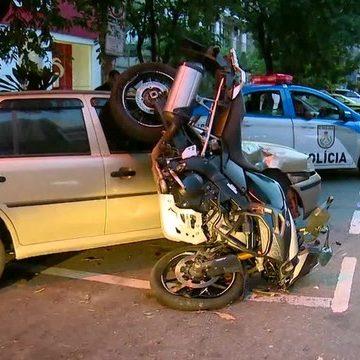 Motociclista morre após grave acidente na Tijuca