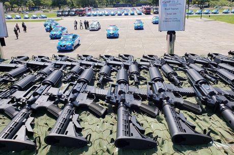 Intervenção federal entregou R$ 319 milhões em equipamentos para o Rio