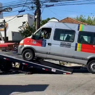 Fiscalização remove vans e aplica mais de 50 multas nas zonas Norte e Oeste