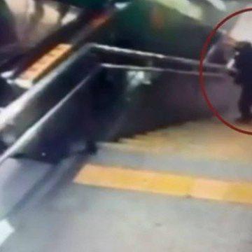 Suspeito de assaltos em estação do metrô é preso com tornozeleira eletrônica