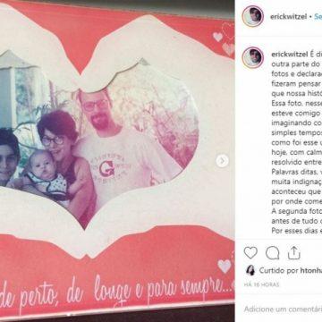 Filho trans de Witzel tenta reaproximação com o pai por meio de rede social