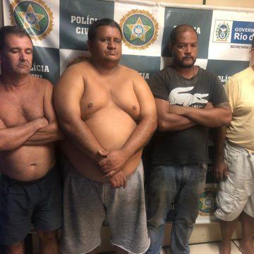 Quatro homens são presos acusados de integrarem grupo de desmanche de carros em Nova Iguaçu