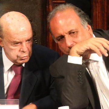 Tribunal de Contas do RJ julga contas de Pezão e Dornelles nesta quarta