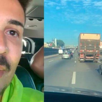 Humorista Carlinhos Maia compra carro novo para desconhecido na rua