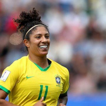 Cristiane faz três gols e Brasil vence a Jamaica