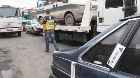 Detro realiza leilões de mais de 200 veículos nos próximos dois dias