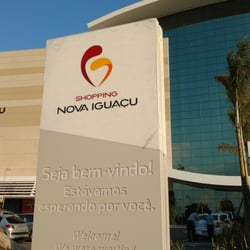 Desrespeitada na cancela do estacionamento do Shopping Nova Iguaçu