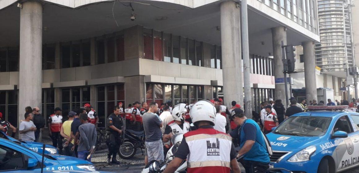 Perseguição policial termina com três mortos no Centro