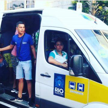 Prefeitura determina mudança em rota de vans para atender moradores do Vidigal