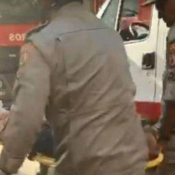 Morre jovem ferido em explosão de prédio na Muzema