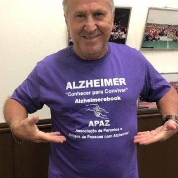 Zico se torna o embaixador do Alzheimer no Brasil