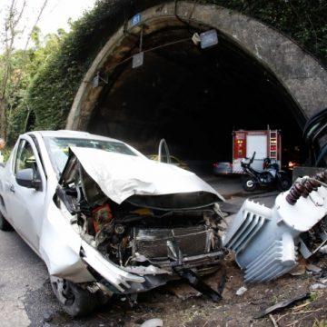 Acidentes fecham Túnel Rebouças em dois momentos desta segunda