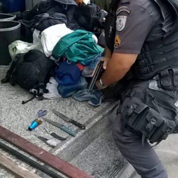 Colombianos são presos suspeitos de roubo na Zona Sul