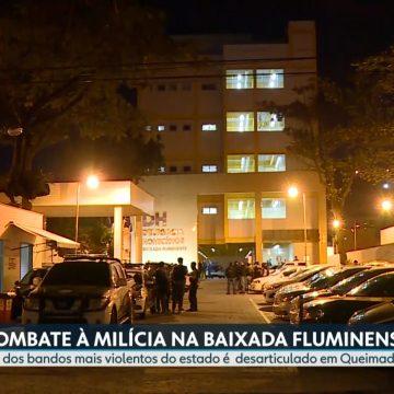 Erro em reportagem da TV Globo sobre operação contra milícia provoca confusão política em Mesquita