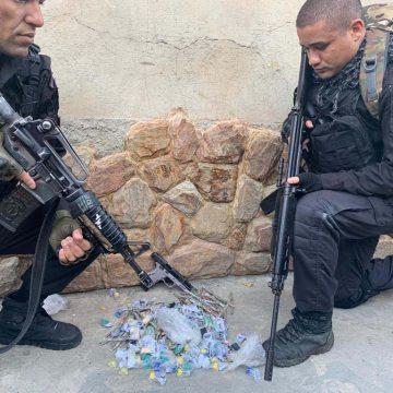 Suspeito é baleado durante operação da PM na Cidade de Deus