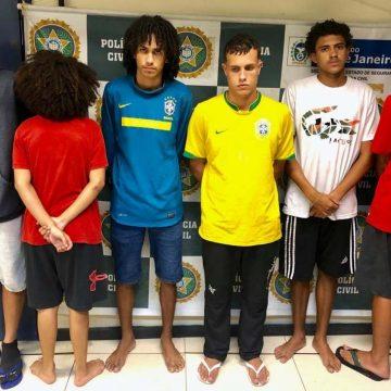'Soldado' do tráfico de 17 anos é apreendida durante operação em Copacabana