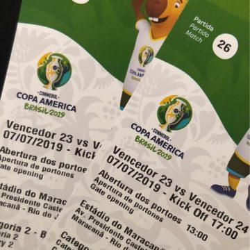 Presa quadrilha acusada de vender ingressos falsificados para final da Copa América