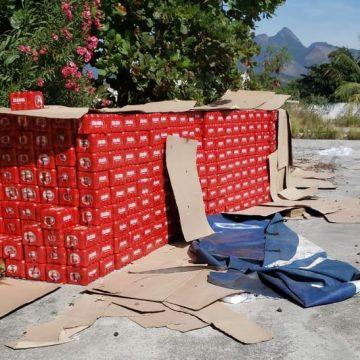Carga com cerca de 6 mil engradados de cerveja é recuperada no Caju