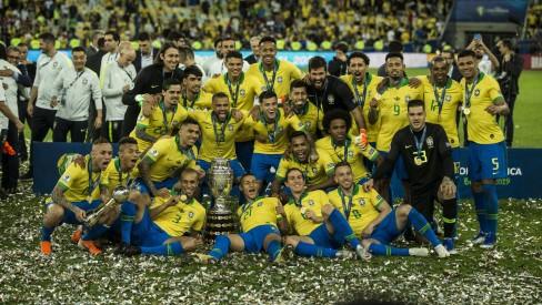 Brasil fatura R$ 43,9 milhões com o título da Copa América; Peru ganha R$ 34,3 milhões