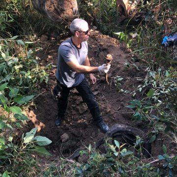 Polícia e MP encontram mais corpos em cemitério clandestino em Itaboraí