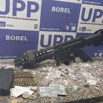 Suspeito de chefiar o tráfico no Morro do Borel, na Tijuca, é morto em operação da PM