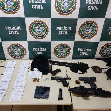 Milicianos são presos em flagrante em comunidade da Zona Oeste