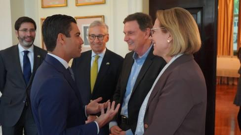 Prefeitura do Rio firma acordos de cooperação com a cidade de Miami para área de turismo e inovação