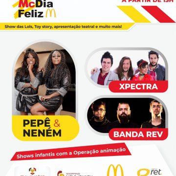 Campanha Mc dia Feliz será amanhã no Nova Iguaçu Shopping