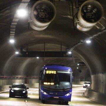Concessionária anuncia que devolverá administração de túneis Marcello Alencar e 450 à prefeitura do Rio