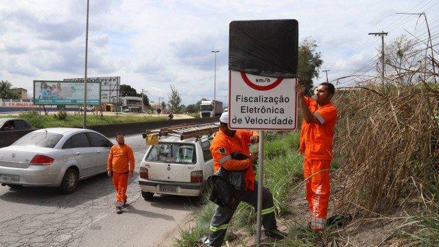 Quinze radares são desativados em áreas de risco em estradas de Niterói e São Gonçalo